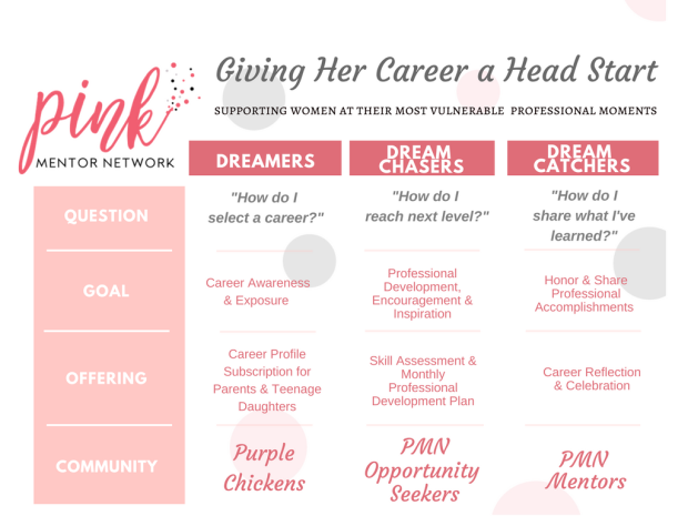 Pink Mentor Network - Service Offerings